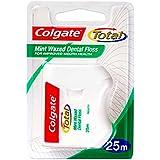 COLGATE Mint Waxed Dental Floss 25m