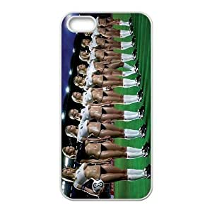K-G-X Phone case For Apple Iphone 5 5S Cases Case-Pattern-4 Love Football Protective Back Case