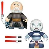 : Star Wars Mighty Muggs Count Dooku and Asajj Ventress