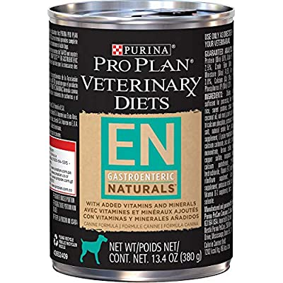 Purina Veterinary Diets Dog Food EN [Naturals] (12 cans)