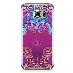 Hairs Samsung Galaxy S6 Transparent Edge Case - Design 13