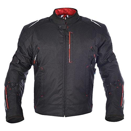 Oxfords Toledo (Oxford Toledo 1.0 Men's Waterproof Short Motorcycle Jacket - TechBlack M/40)