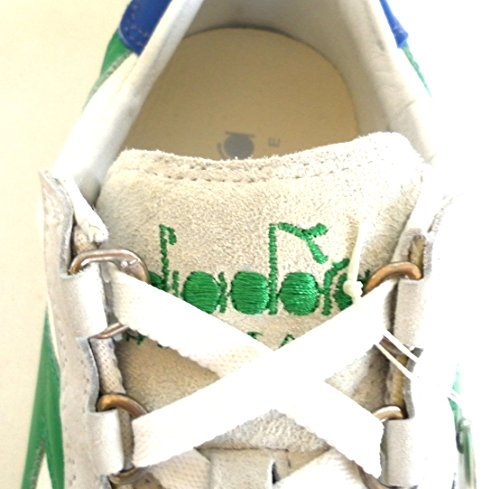White Stone Wash Green Diadora Equipe 42 Heritage 12 Meadow RqH74