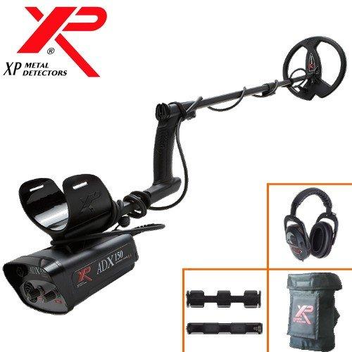 XP Metal Detectors - Detector de metales ADX 150 - frecuencia 4,6 kHz - Disco 22,5 cm DD (protege disco - regulación por potentiometres - Identificador ...