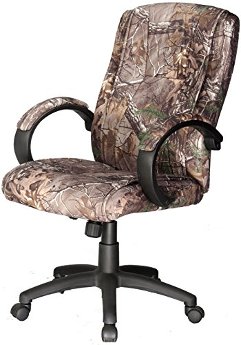 Comfort Products Padded Microfiber Fabric Executive Chair, Camouflage Review