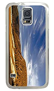Galaxy S5 Case, Personalized Custom PC Clear Case for Samsung Galaxy S5 Scenery Cover