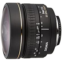 Sigma 8mm f/3.5 EX DG Circular Fisheye Lens for Nikon SLR Cameras