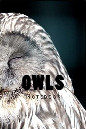 Owls: 150 page lined notebook