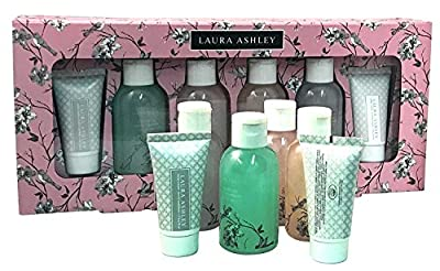 Laura Ashley Beauty Body Care 6 pc Bath and Body Sampler Collection Gift Set