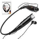 Wireless Bluetooth Neckband Headset by Chirotronix - Free BONUS Velvet Bag - Hands Free Stereo w/ Mic - Comfortable Earbuds - Great 4 Gym, Running, Biking, Gardening, Airplane Travel - 100% Guarantee