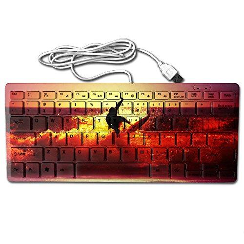 Make America Surf Again Ultra Thin Wired Usb Multimedia Mini Keyboard 78 Keys 28 5122 2Cm