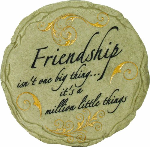 Spoontiques Friendship Stepping Stone by Spoontiques, Inc.