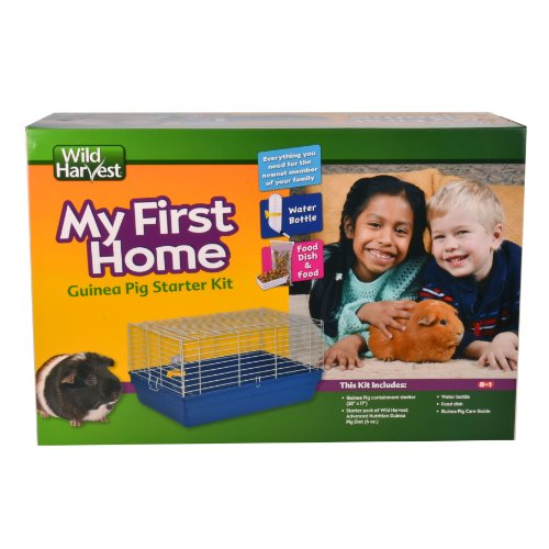 - Wild Harvest My First Home Guinea Pig Kit, 28-Inch by 18-Inch by 14.5-Inch (WH-83525)
