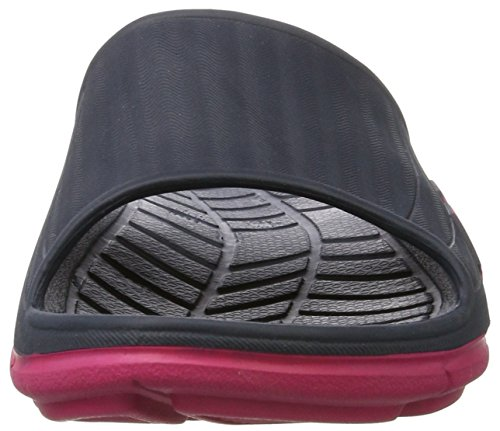 Hummel Jensen Sandal, Mocasines Unisex Adulto, Multicolor Negro (Bright Rose)