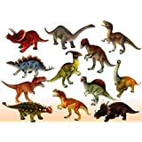 Zaid Collections Dinosaur Toy 6 Pcs - 9 Cm 10Cm Dinosaur Toys - Multi Color