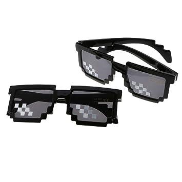 HAPPYX Thug Life Sunglasses, Deal with It Gafas de Sol 8 ...