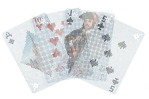 Kikkerland Pixel Playing Cards