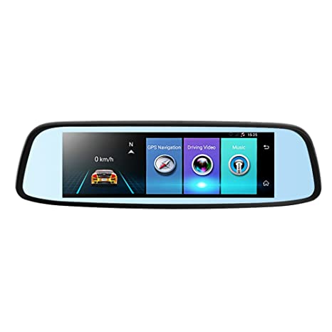 Phisung E09 7.84in FHD 1080P Bluetooth 4G Android Car Rearview Mirror DVR Video Recorder Loop