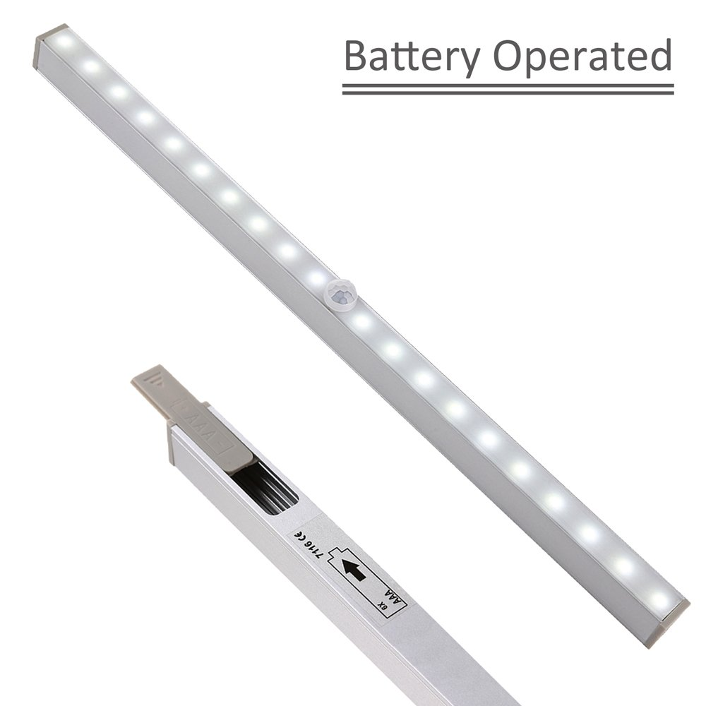b ie UTF8&node kitchen under cabinet lighting LED Closet Light LightBiz 20 LED Wireless Motion Sensor Night Light Under Cabinet Lighting Battery Operated