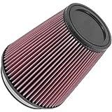 K&N RU-2800 Universal Clamp-On Air Filter:...