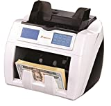 Carnation CR2 Currency Counter with Triple Counterfeit Detection UV MG IR Touchscreen, Up to 1500 Bills/Minute