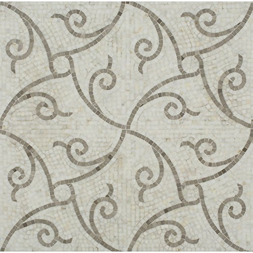 Twine Calcatta & Lady Gray Polished (Sold by:SHEET) TWNCALCLDGR