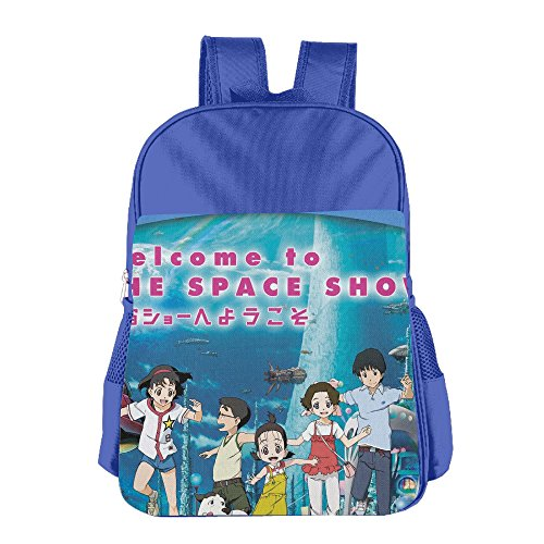 Welcome To The Space Show Children School Bag RoyalBlue