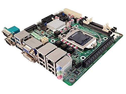 Jetway NF9J-Q87 Intel LGA 1150 Haswell Dual LAN & Dual COM Mini-ITX Motherboard