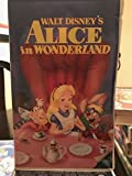 Alice In Wonderland Black Diamond Classic Edition Walt Disney VHS 036 Classics