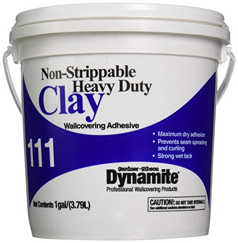 Gardner-Gibson 111 Non-Strippable Heavy-Duty Clay Wall Covering Adhesive