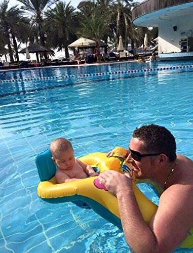 Amazon.com: NHSUNRAY Baby and Me Combo Boat, Parents-child Float Safe Seat Inflatable Mother and Baby Swim Ring Summer Fun Swim Toy Trainer: Toys & Games