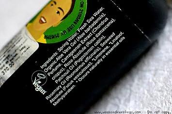 Lush Breath of Fresh Air Toner Water for All Skin Types 8.4 Fl Oz 100ml