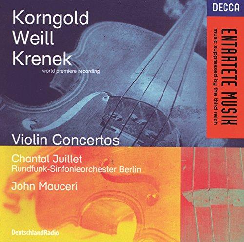 Korngold / Weill / Krenek: Violin ()