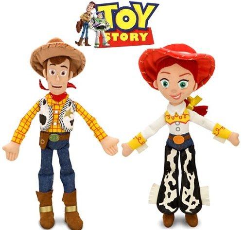 Disney Toy Story Woody and Jessie Doll Set