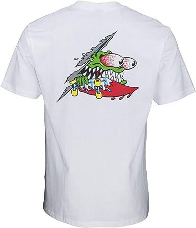 SANTA CRUZ Camiseta de manga corta Slashed Athlethic Heather ...