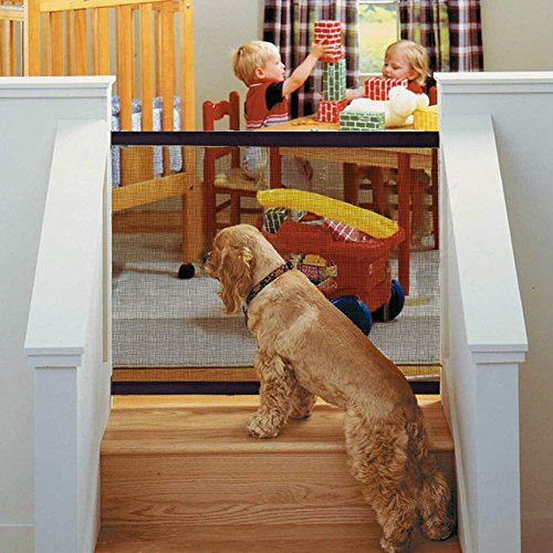 Safety Gate,Baby Gate,Pet Retractable Safety Gate for Indoor and Outdoor Protection