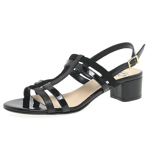 213c278cc6264 H&B HB Parallel Womens Dress Sandals: Amazon.co.uk: Shoes & Bags