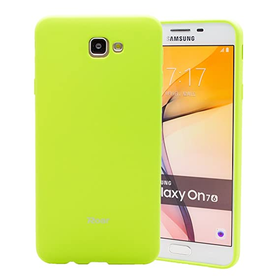 the best attitude 8e954 697d8 Galaxy J7 Prime (2016) case, Roar Colorful Jelly [Matte Texture][Smooth  Touch][Non Slip] Snug-fit Rubber Silicone Gel TPU Full Body Soft Case Cover  - ...