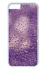 Purple water droplets Custom For SamSung Galaxy S3 Case Cover Polycarbonate White