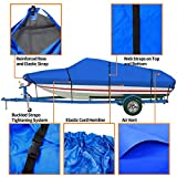 iCOVER Trailerable Boat Cover- 600D Water Proof