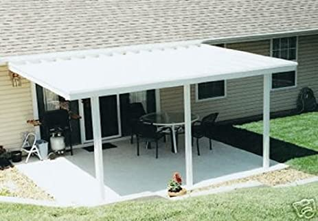 Aluminum Patio Cover 20u0027x12u0027