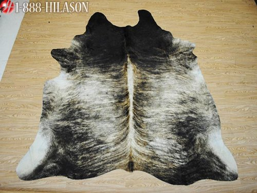 Dyed Cowhide Leather (Cowhide Hair-On Leather Dyed Cowhide Throw Rug Carpet)