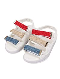 Hztyyier Children Sandals Open-Toe Soft Sole Summer Casual Shoes with LED Light for Toddler Boys Girls