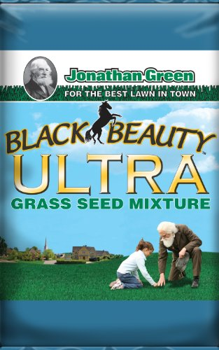 Mix Fescue - Jonathan Green 10322 Black Beauty Ultra Grass Seed Mix, 7 Pounds