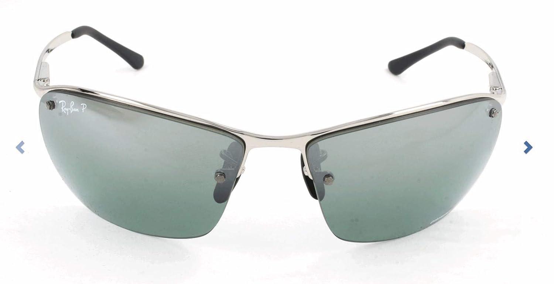 Ray-Ban Sonnenbrille Mod. 3544 Gafas de sol, Plateado (Silver), 64.0 ...