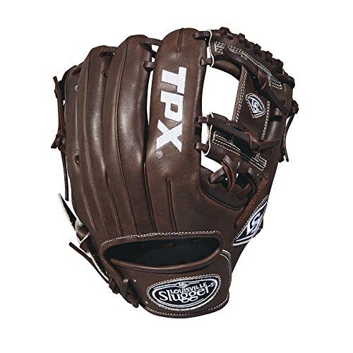 Louisville Slugger 2018 Tpx Infield Baseball Glove - Right Hand Throw Dark Brown/White, ()
