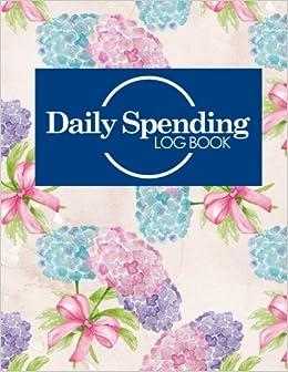 daily spending log book daily expense journal money spending