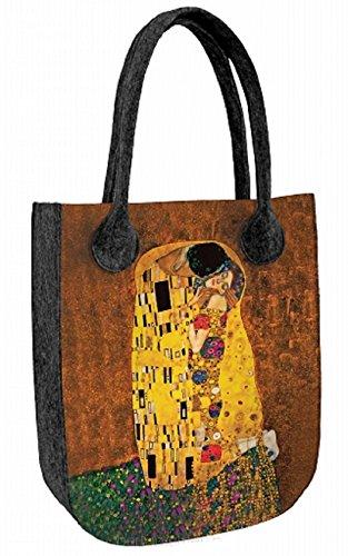 BERTONI - moderno de Fieltro Mujer Niñas 42 cm x 35 cm x 10 cm
