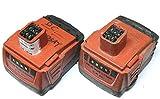 2 Pcs X Hilti 14.4v 2.6a CPC B144 Li-ion Battery Akku Used for SFH SID SIW 144-a