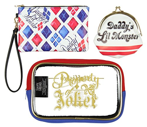 Harley Quinn Makeup Bag - 3